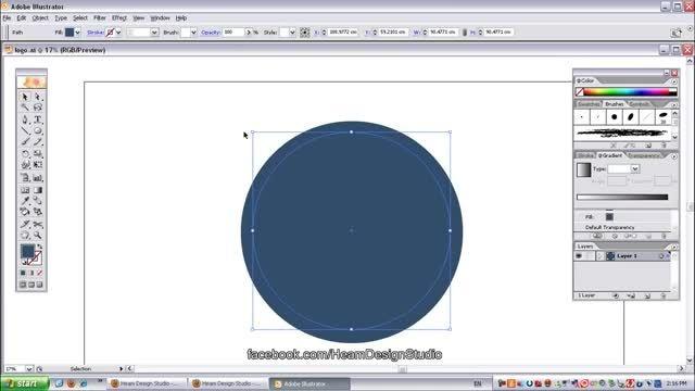 آموزش ویدئویی طراحی لوگو با برنامه Adobe Illustrator