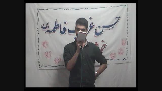 محمد رضا ابراهیمی ولادت امام حسن مجتبی رمضان94