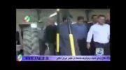 بازدیدحجت الاسلام موسوی نژادازهنرستان علم وصنعت برازجان