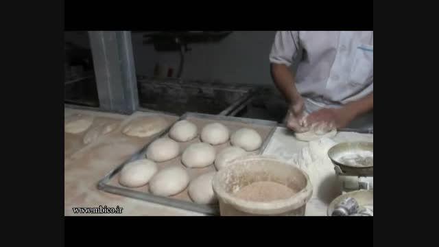 نان تافتون سنتی با دستگاه حرارت غیر مستقیم