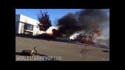 اولین ویدئو منتشر شده از تصادف paul walker