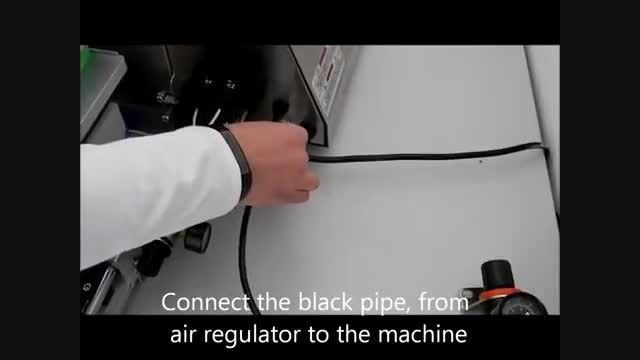 نحوه نصب دستگاه موم زن اتوماتیک RiaceWax ایتالیا