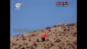 درگیری چهره به چهره حزب الله و داعش در کوهستان