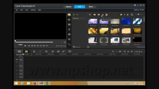 آشنایی با Library در COREL VIDEO STUDIO