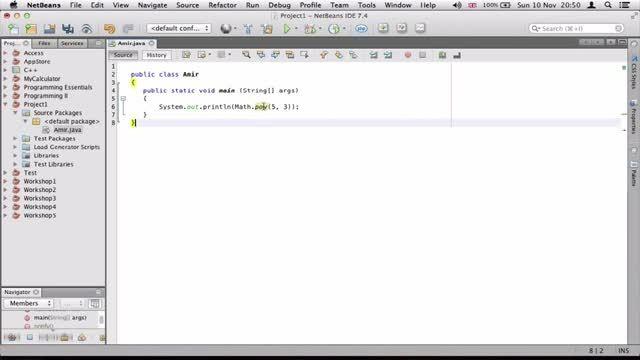 ۲۱- متودهای ریاضی در جاوا Java