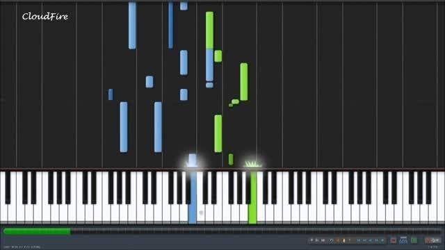 آهنگ افسانه خورشید و ماه با پیانو ost