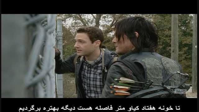 "The Walking Dead قسمت 16 از فصل 5 "" پارت دوم """