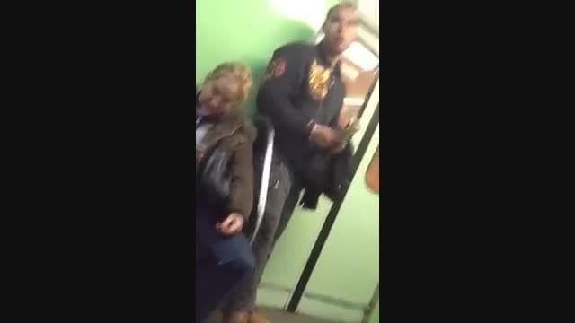 دزدی مدرن در مترو -در 2ثانیه-