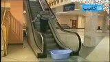 دوربین مخفی(پله برقی)