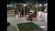 حضور رئیس انتشارات مبین اندیشه در سیمای باران استان گیلان 1