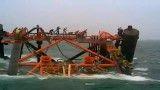 جکت در خلیج فارس غرق شد.