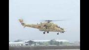 تست بالگرد تهاجمی روسی MI-35S (ارتش عراق)