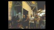 دف نوازی و رقص در استانبول خیابان استقلال