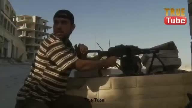 شکار دقیق تروریست تکفیری توسط تک تیرانداز ارتش سوریه