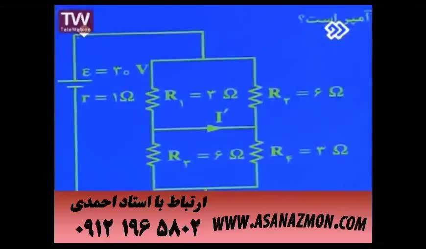 آموزش اصول حل تست های ترکیبی درس فیزیک - کنکور ۱۶