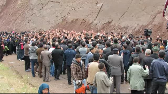 الموت- روستای شترخان عزاداری تاسوعا محرم 93