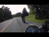 1975 Yamaha RD250 vs. 1975 Honda CB400F