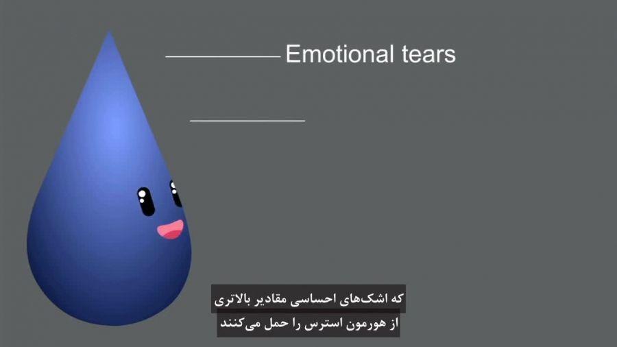 چرا ما گریه می کنیم؟ سه نوع متفاوت از اشک