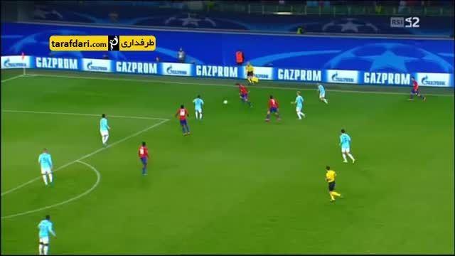 خلاصه بازی زسکا مسکو 3-2 پی اس وی آیندهوون