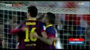 بارسلونا 2 - رئال سوسیداد 0