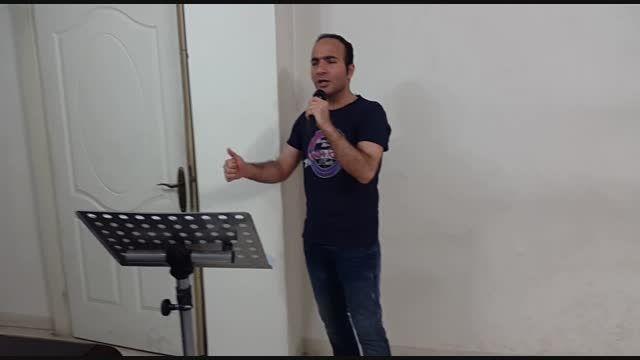 تمرین و پشت صحنه ی اجرای ، حسن ریوندی _ آرش ،آرمین 2afm