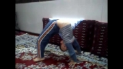 حركات ورزشی پسر هفت ساله