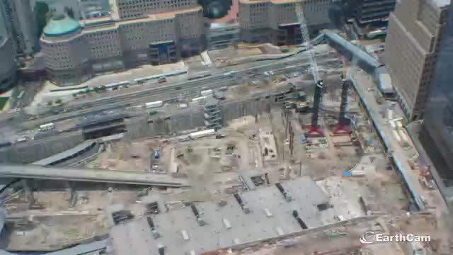 مراحل ساخت برج مرکز تجارت جهانی نیویورک در دو دقیقه