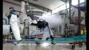 واترجت صنعتی- شستشو صنعتی- اب پاش فشارقوی- واترجت برقی