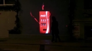 تبلیغ جالب شرکت کوکا کولا به مناسبت ولنتاین