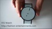 ساعت دوست داشتنی سونی با تکنولوژی کاغذ الکترونیکی