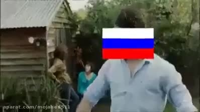 عاقبت سر به سر گذاشتن با روسیه :)