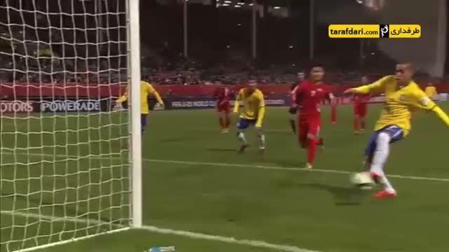 خلاصه بازی برزیل 3-0 کره شمالی (جام جهانی زیر 20 سال)