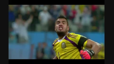 ضربات پنالتی هلند و آرژانتین