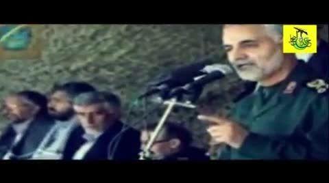 گریه های حاج قاسم سلیمانی در سوگ سردار کاظمی