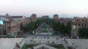 میدان کاسکد یا هزار پله ایروان ارمنستان