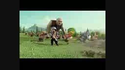ویدیو جالب با پر طرفدار clash of clans