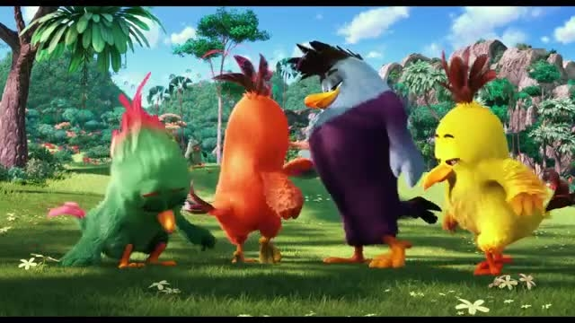 تریلر انیمیشن پرندگان خشمگین the angry birds movie