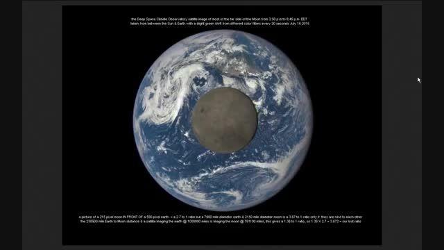 تصاویر روزانه ماهواره DSCOVR