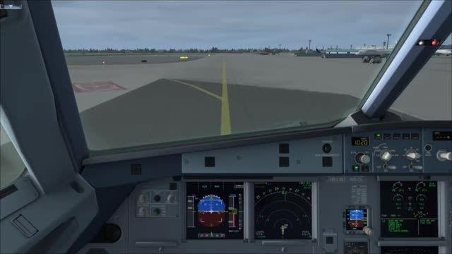آموزش کامل پرواز با ایرباس 320 شبیه ساز پرواز قسمت 7