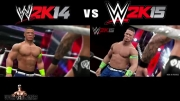 مقایسه ی کیفیت WWE 2K14 و WWE 2K15