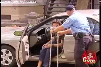 دوربین مخفی خنده دار پارکینگ :))