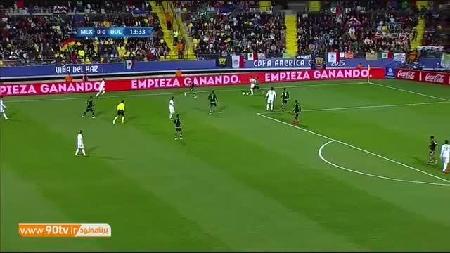 خلاصه بازی: مکزیک ۰-۰ بولیوی
