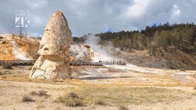 پارک ملی سنگ زرد - آمریکا HD
