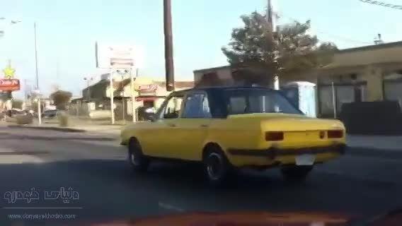 دیده شدن پیکان در لس آنجلس