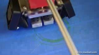 پرینت سه بعدی بلبرینگ با پرینتر سه بعدی Mankati fullsca