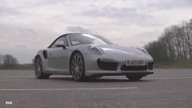 Porsche 911 Turbo Cabriolet Vs Nissan GT-R-evo DRAG BAT