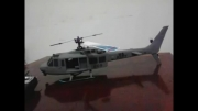 ساخت بدنه هلیکوپتر  بلت سی پی از epo در خانه