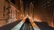 نمایی زیبا و متفاوت  از یک شهر