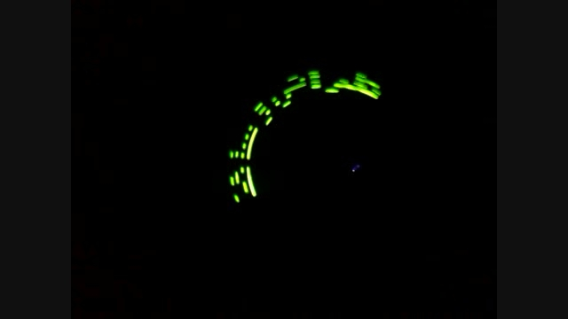 نمایشگر LED چرخان