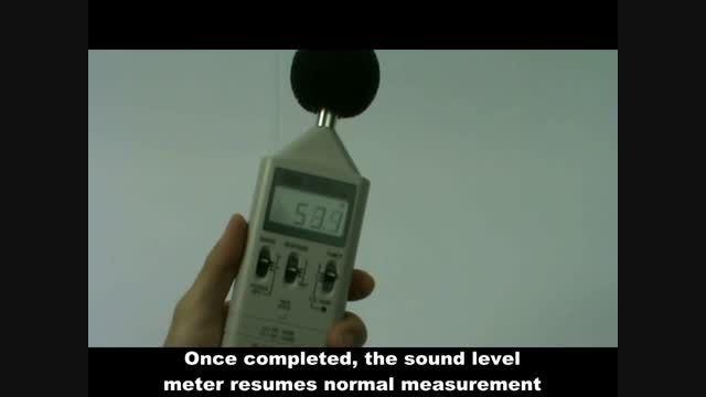 صدا سنج,  مدل TES-1351 ، ساخت کمپانی TESتایوان